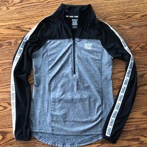 Women's XS PINK 1/4 zip pullover.